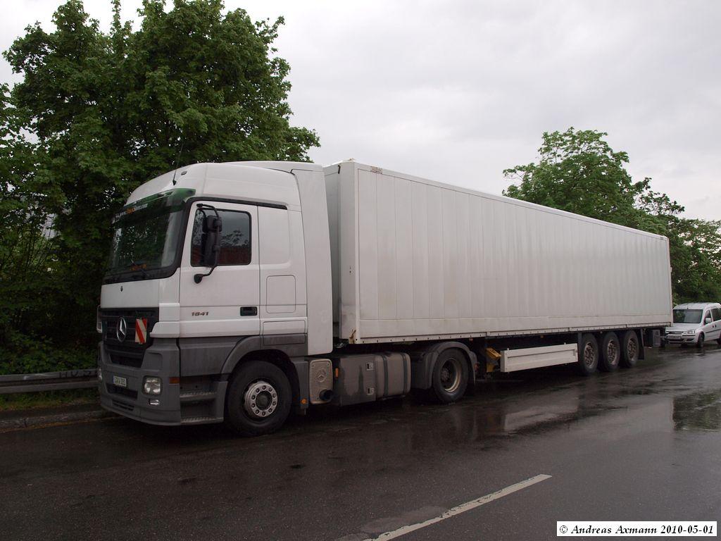 MB Actros 1841  LKW Vermietung Truck Store mit
