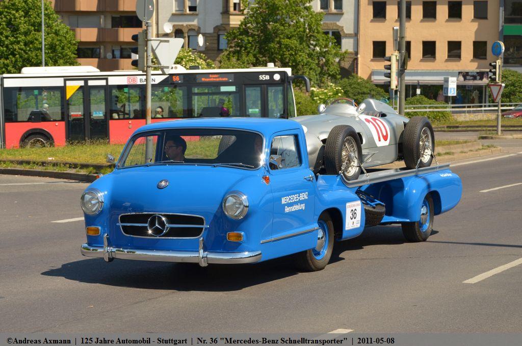 Nr 36 Quot Mercedes Benz Schnelltransporter Quot 1955 Mit