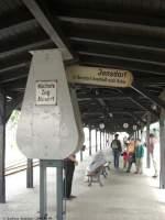 zittau/46406/zugzielanzeige-im-schmalspurbahnhof-zittau-10082008 Zugzielanzeige im  Schmalspurbahnhof Zittau. (10.08.2008)
