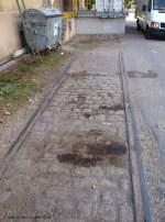 werksanschluss-stillgelegt---fa-otto/51565/gleisreste-auf-dem-gelaende-der-ehemaligen Gleisreste auf dem Gelände der ehemaligen Fa. OTTO. Wendlingen am Neckar.