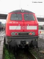 218 161/59768/218-161-8-im-bf-wendlingenneckar-als 218 161-8 im Bf Wendlingen/Neckar als RB13963 nach Oberlenningen (12.05.2009)