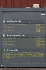 Zugzielanzeigen/151824/zugzielanzeige-am-bf-bjoerkliden-anzeige-heute Zugzielanzeige am Bf Björkliden. Anzeige (Heute) streckensperrung zwischen Kiruna-Narvik-Kiruna.  (22,06,2011)